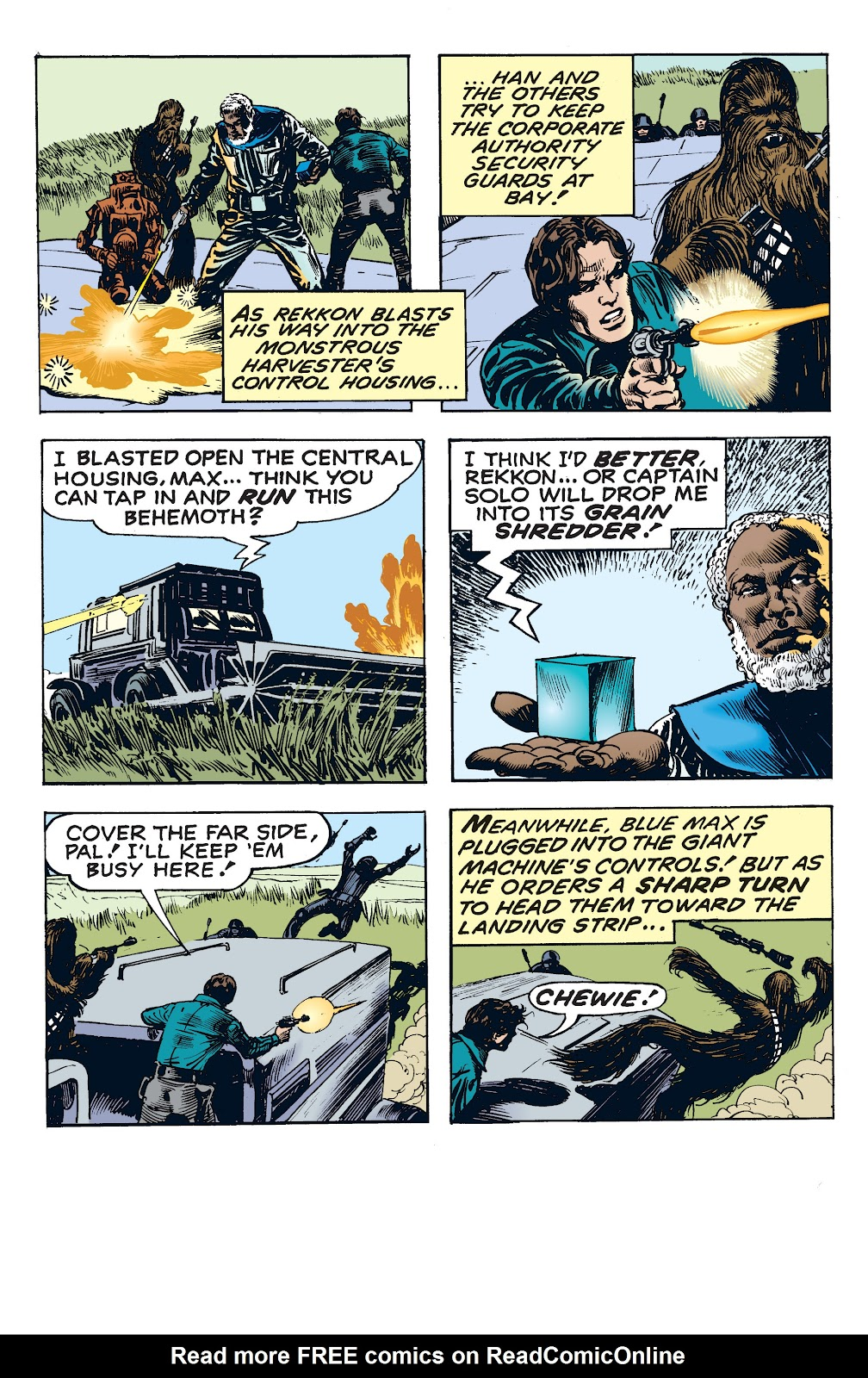 Read online Star Wars Legends: The Newspaper Strips - Epic Collection comic -  Issue # TPB (Part 4) - 36