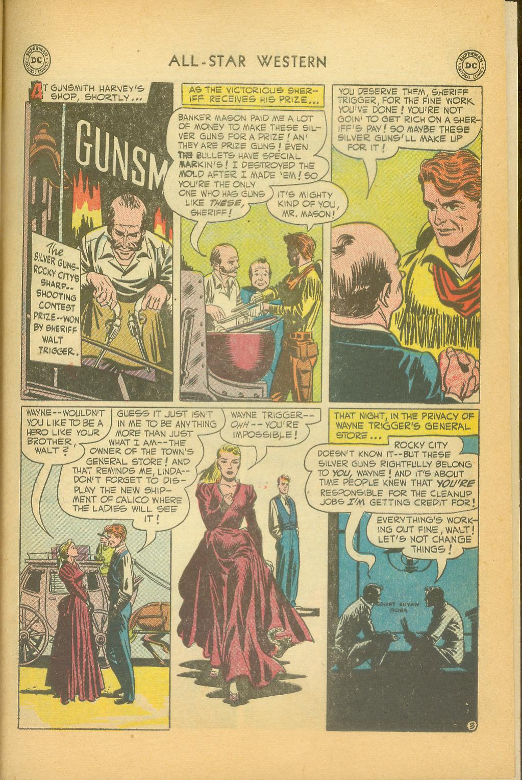 Read online All-Star Western (1951) comic -  Issue #61 - 33