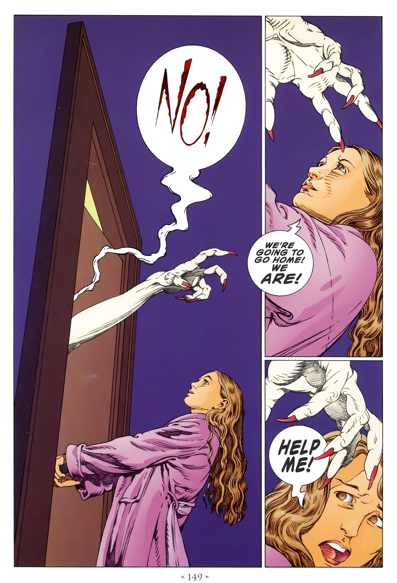 Read online Coraline comic -  Issue #1 - 155