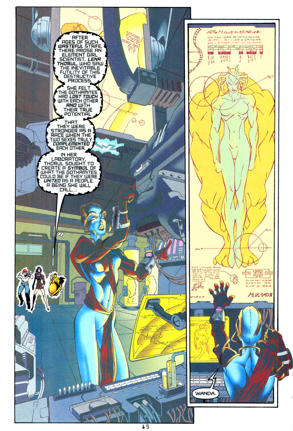 Read online Tangent Comics/ Wonder Woman comic -  Issue # Full - 15