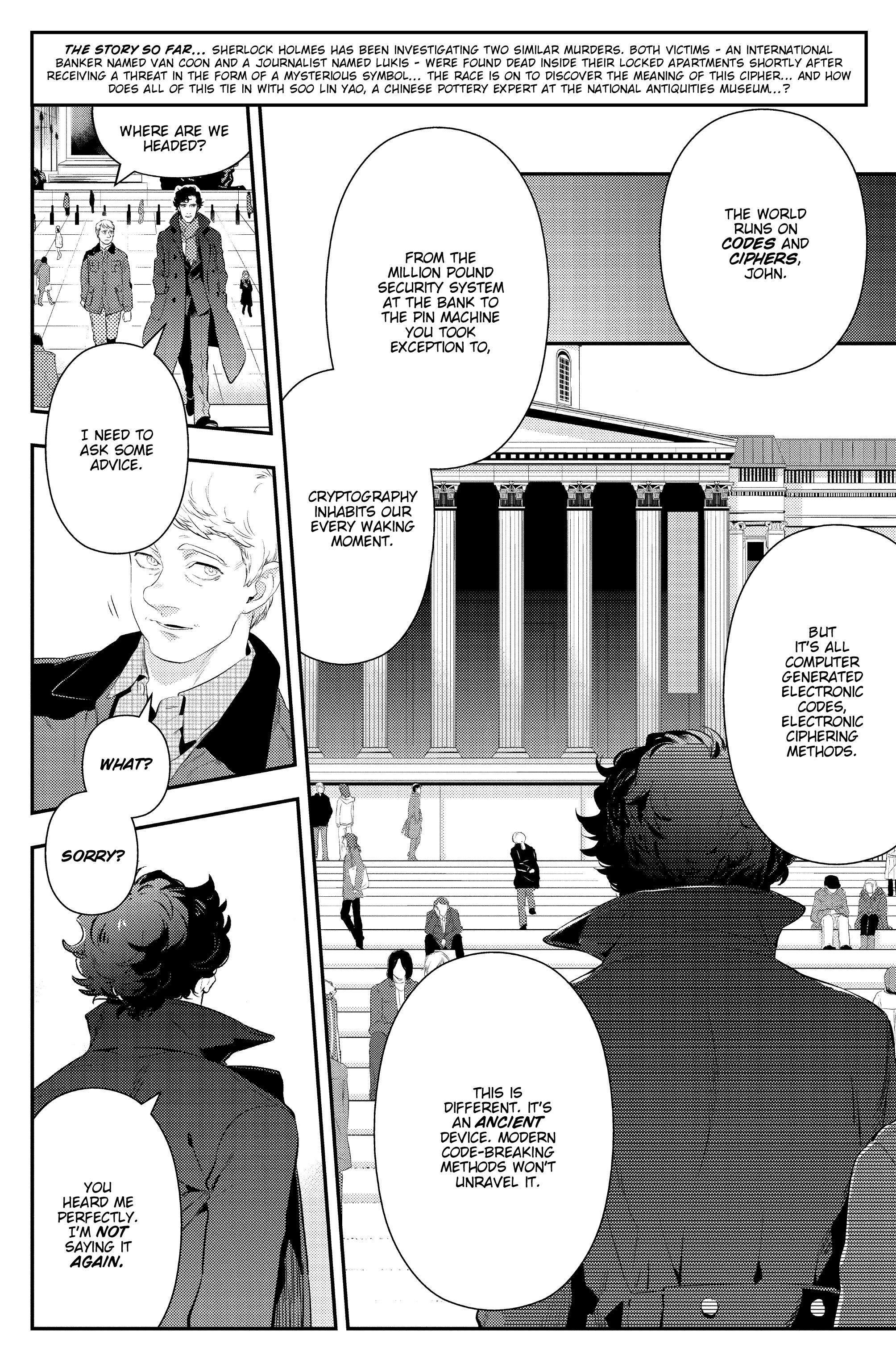 Read online Sherlock: The Blind Banker comic -  Issue #3 - 8