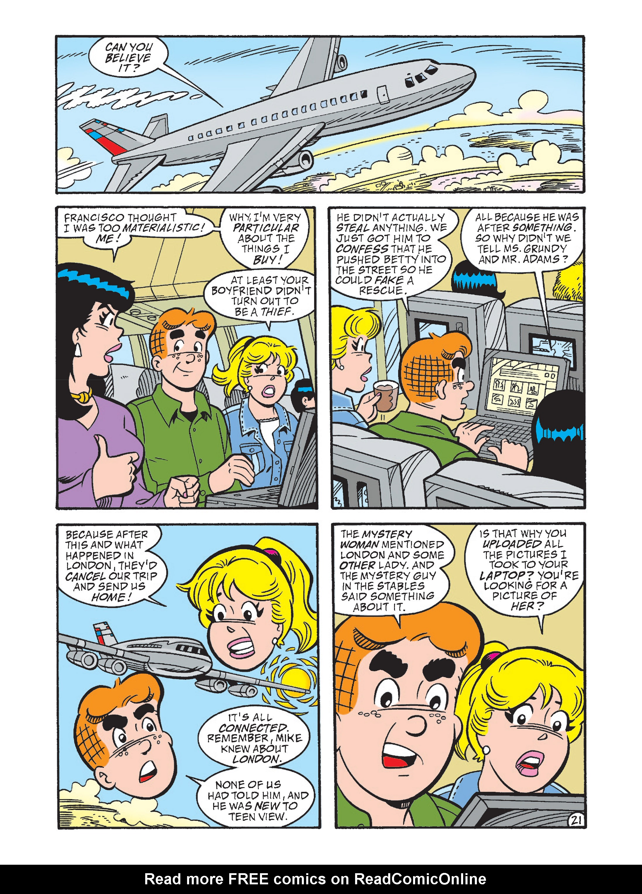 Read online Archie's Funhouse Double Digest comic -  Issue #2 - 56