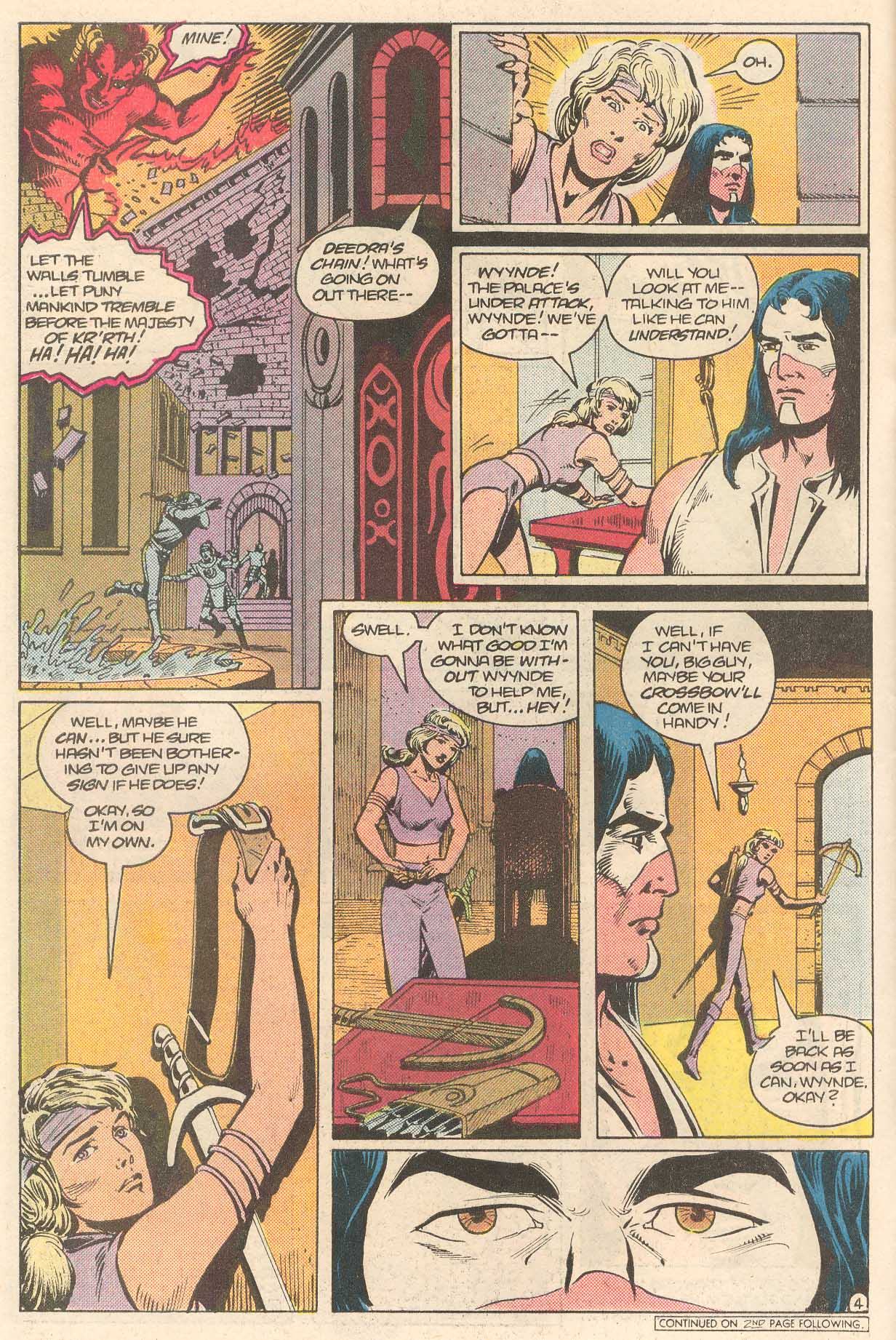 Read online Arion, Lord of Atlantis comic -  Issue #27 - 5