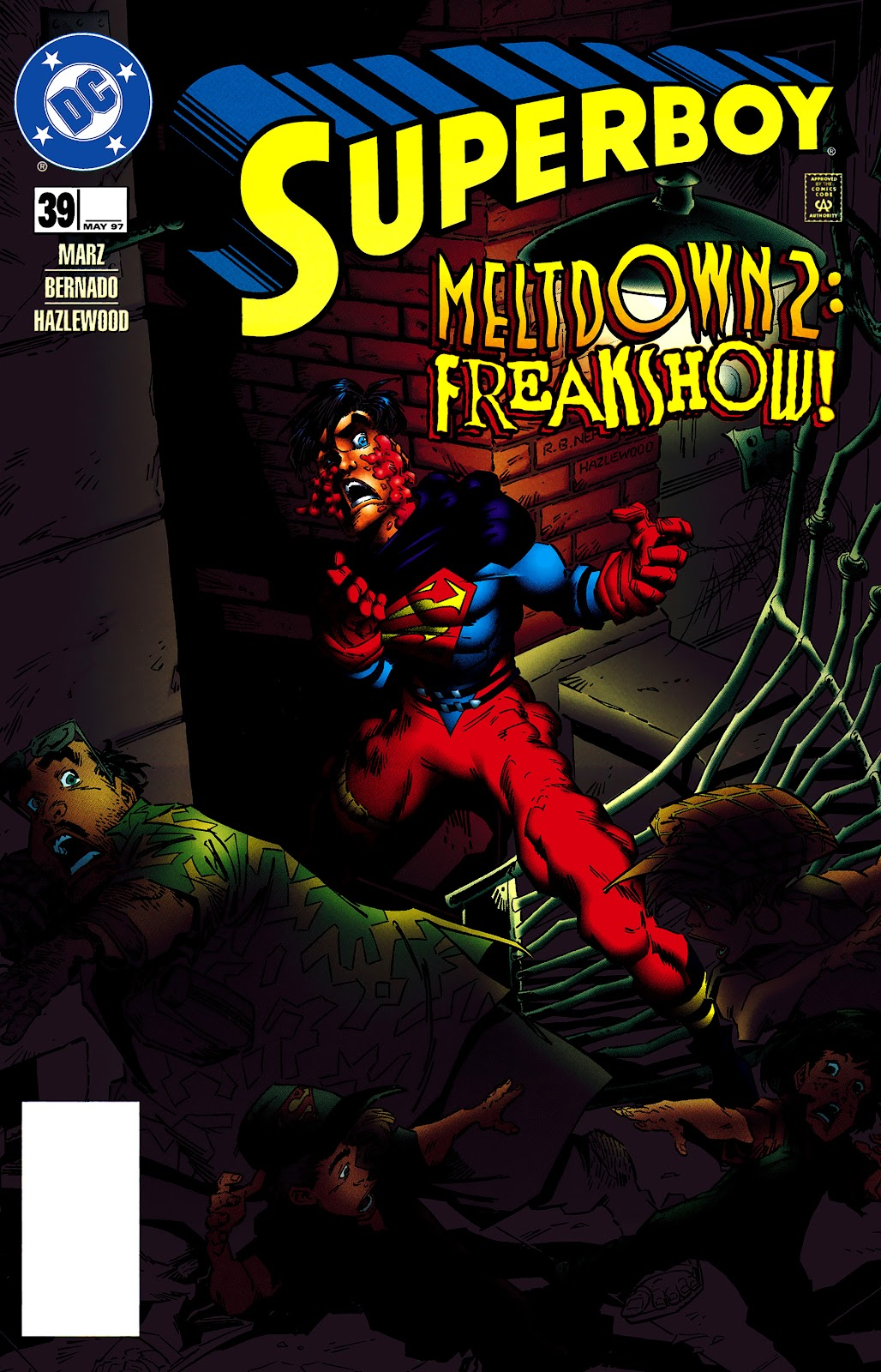 Superboy (1994) 39 Page 1