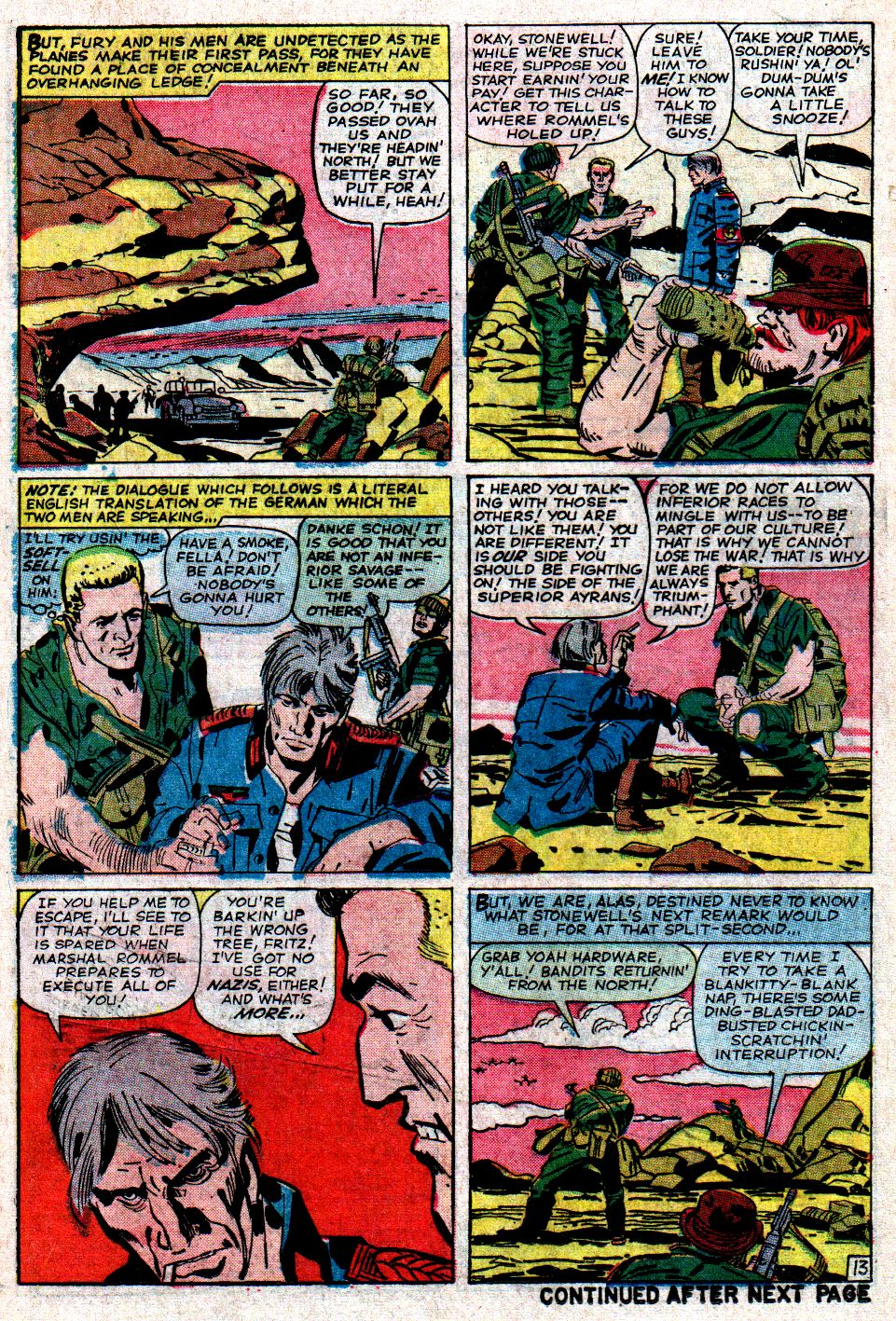 Read online Sgt. Fury comic -  Issue #6 - 18
