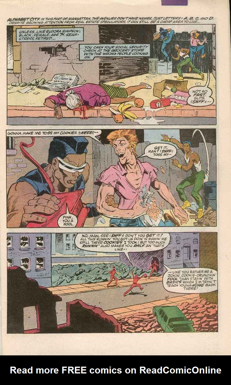Read online Justice (1986) comic -  Issue #1 - 2