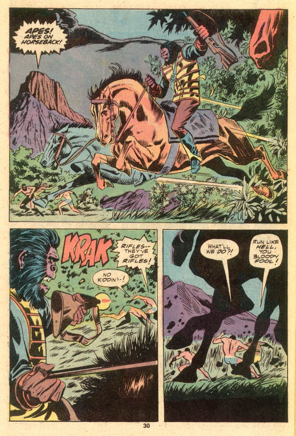 Read online Adventures on the Planet of the Apes comic -  Issue #1 - 19