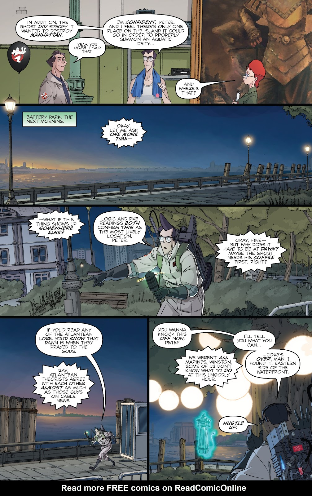 Read online Ghostbusters 35th Anniversary: Ghostbusters comic -  Issue # Full - 19