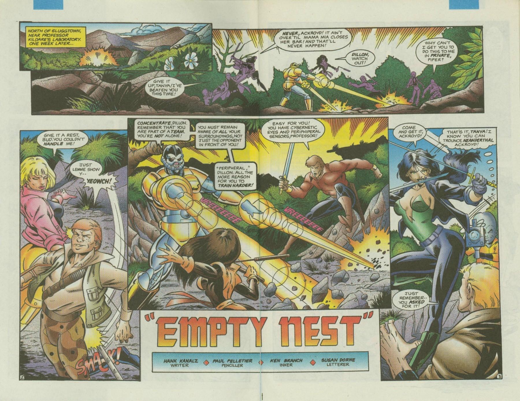 Read online Ex-Mutants comic -  Issue #4 - 4