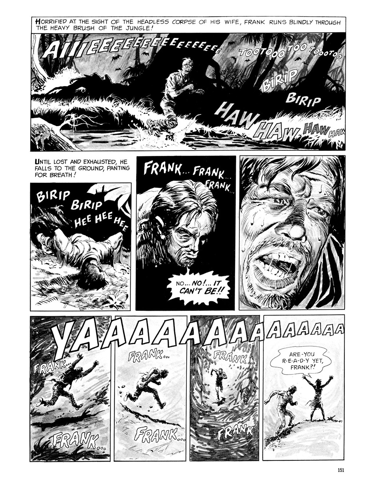 Read online Eerie Archives comic -  Issue # TPB 3 - 152