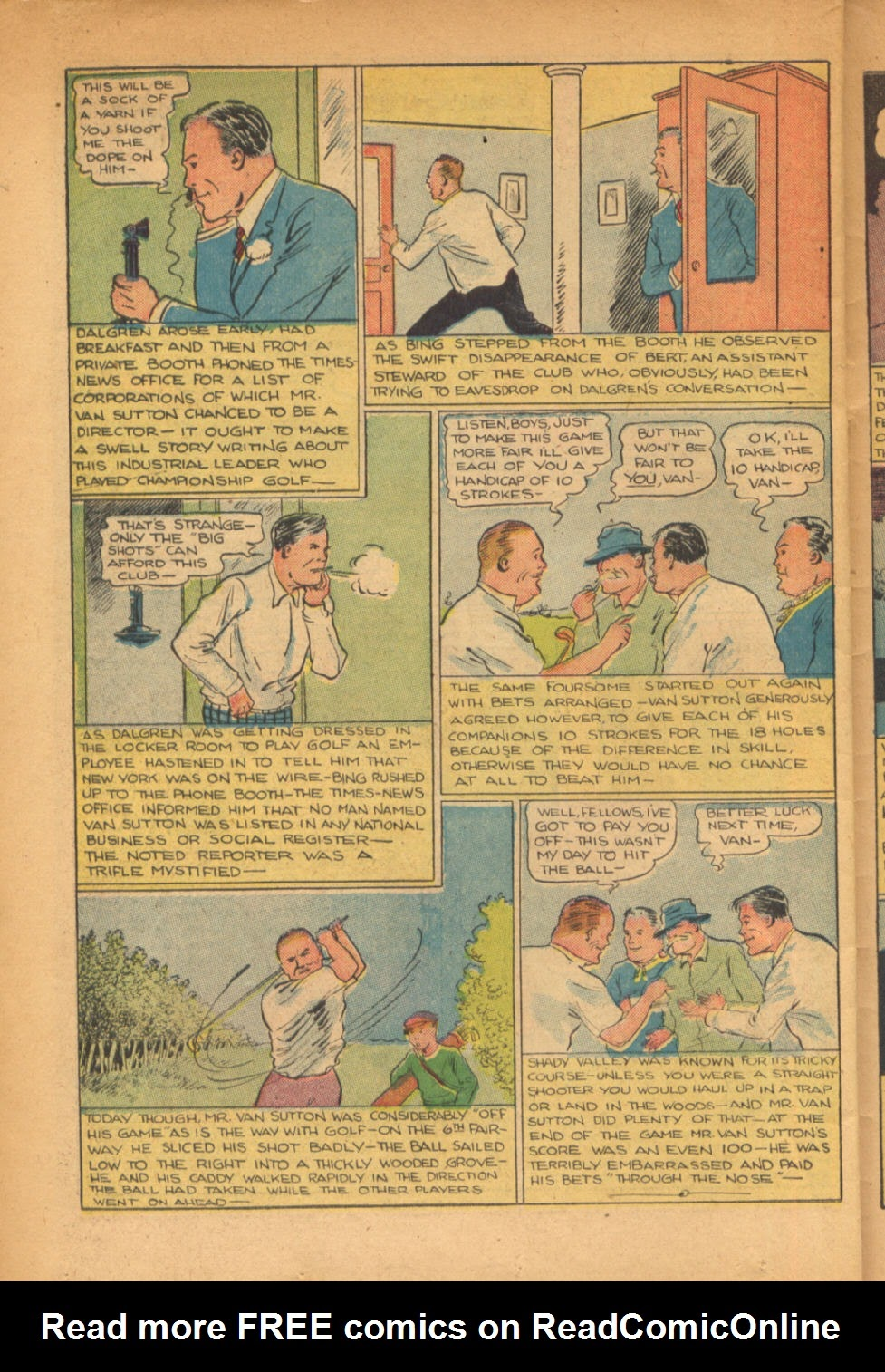 Read online Super-Magician Comics comic -  Issue #54 - 37