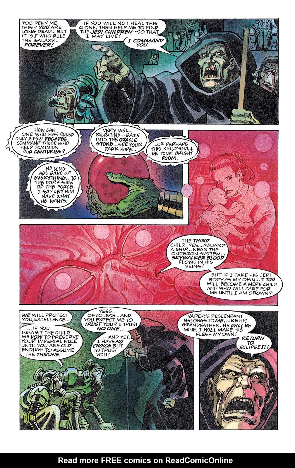 Read online Star Wars: Dark Empire Trilogy comic -  Issue # TPB (Part 4) - 36