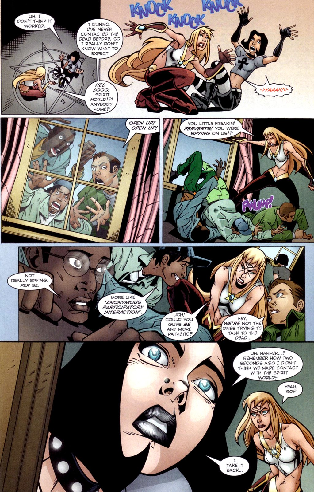 Read online Jezebelle comic -  Issue #4 - 18
