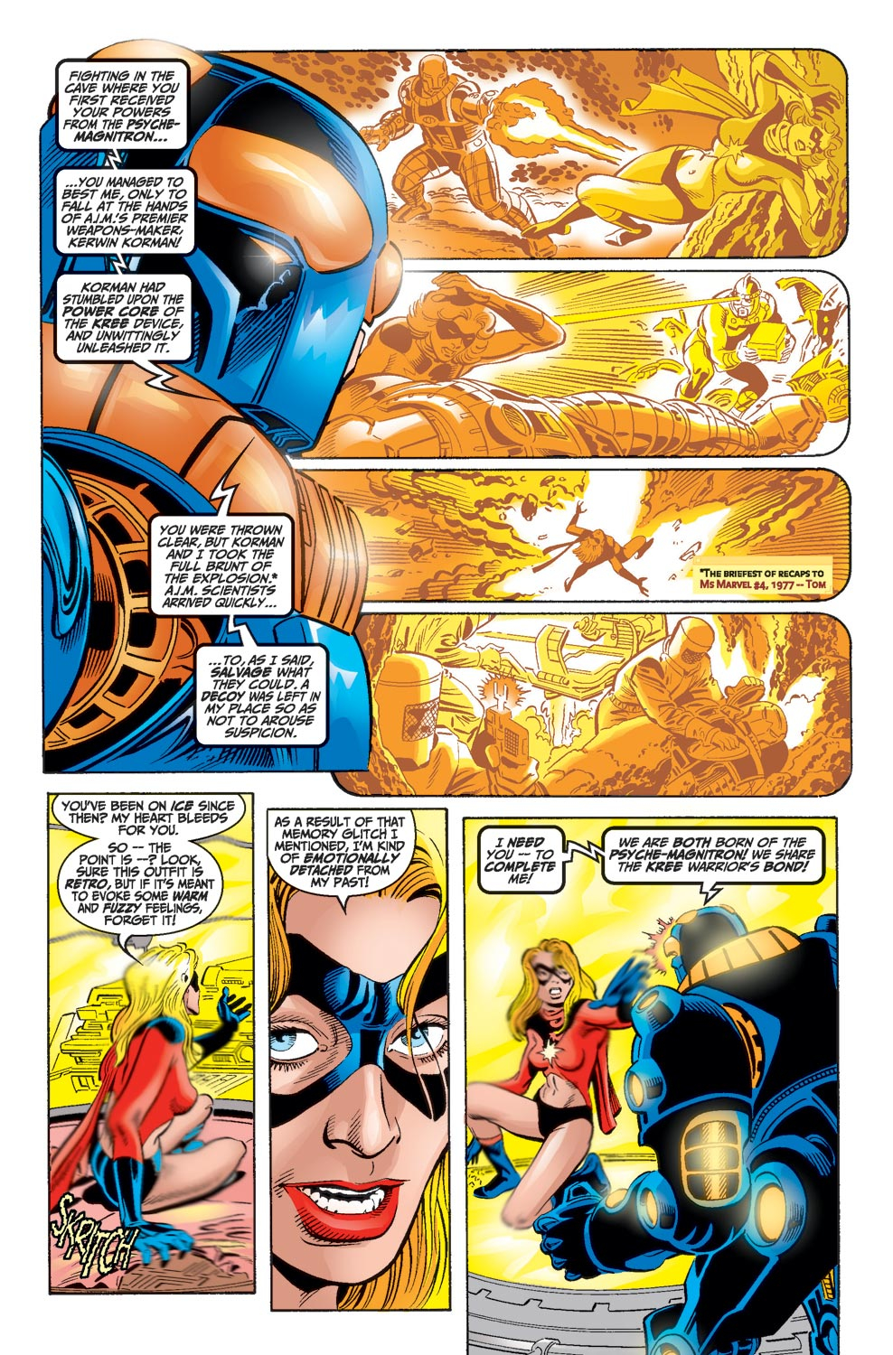 Read online Avengers (1998) comic -  Issue #17 - 7