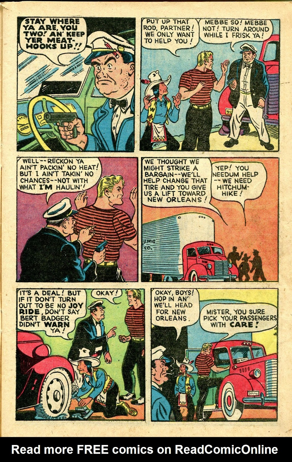 Read online Famous Funnies comic -  Issue #160 - 5