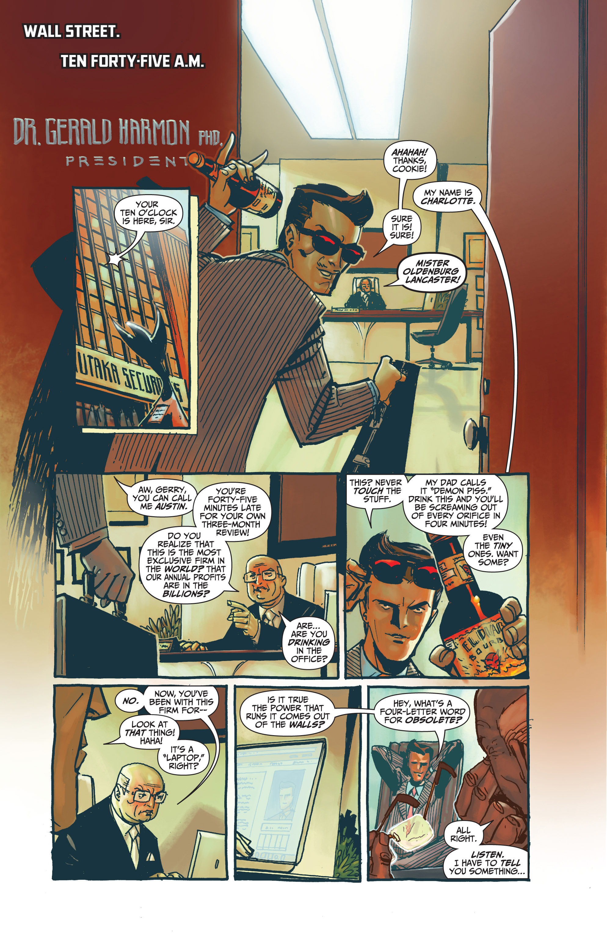 Read online Archer and Armstrong comic -  Issue #Archer and Armstrong _TPB 7 - 40