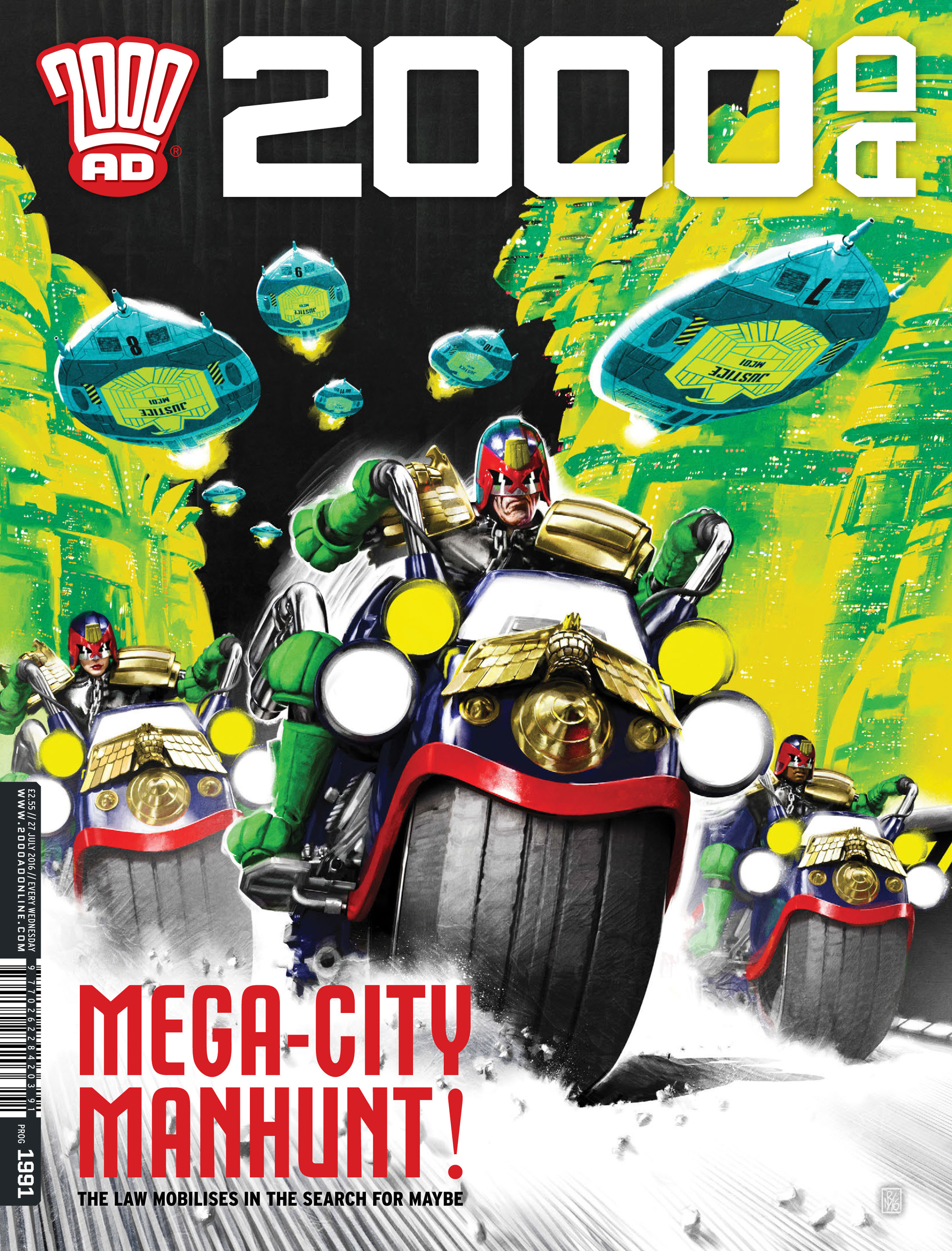 Read online 2000 AD comic -  Issue #1991 - 1