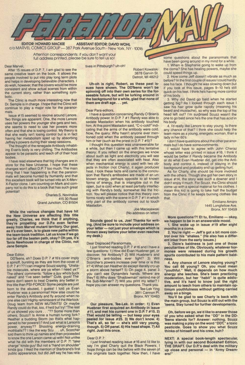 Read online Justice (1986) comic -  Issue #21 - 31