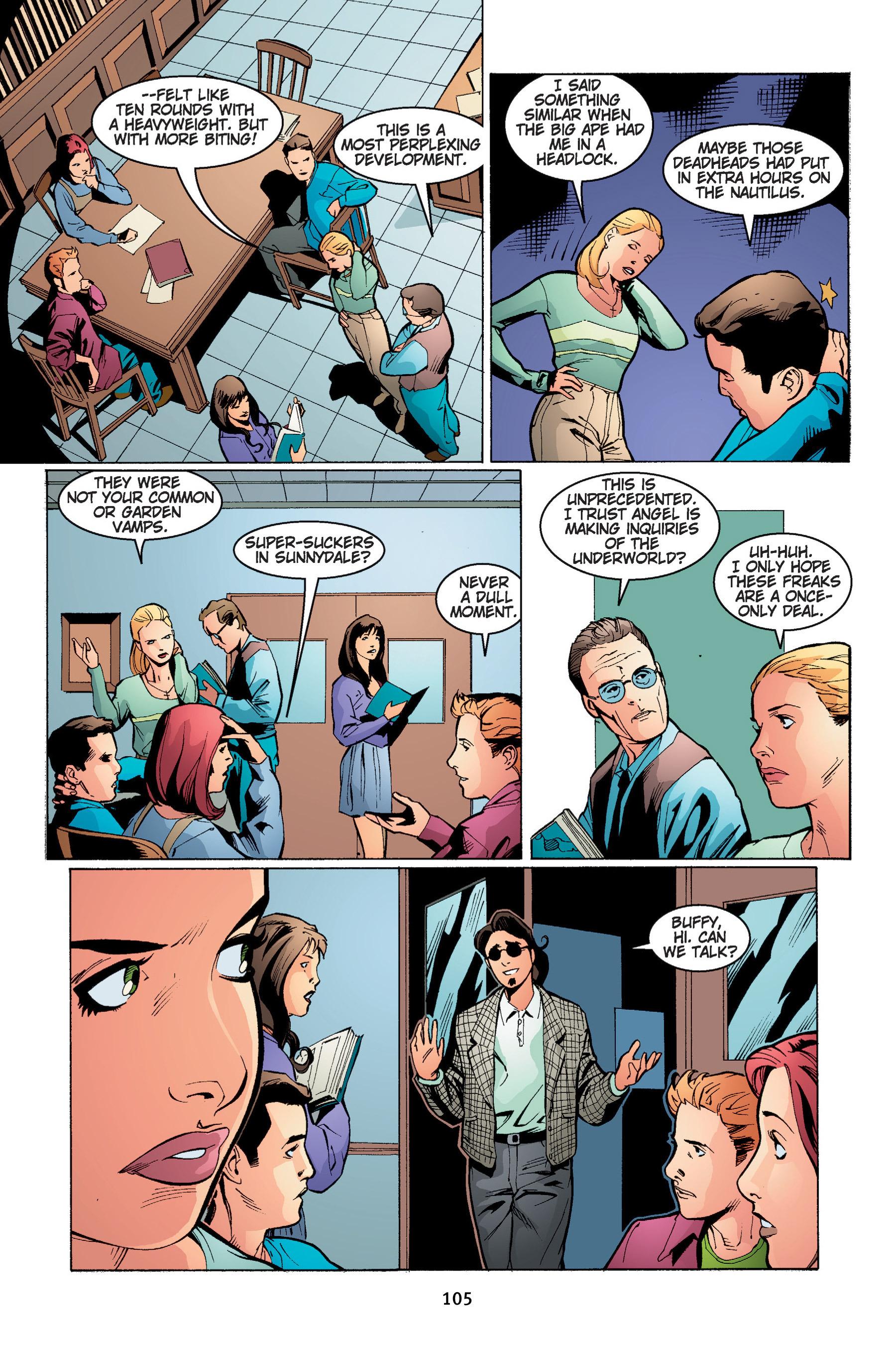 Read online Buffy the Vampire Slayer: Omnibus comic -  Issue # TPB 4 - 106