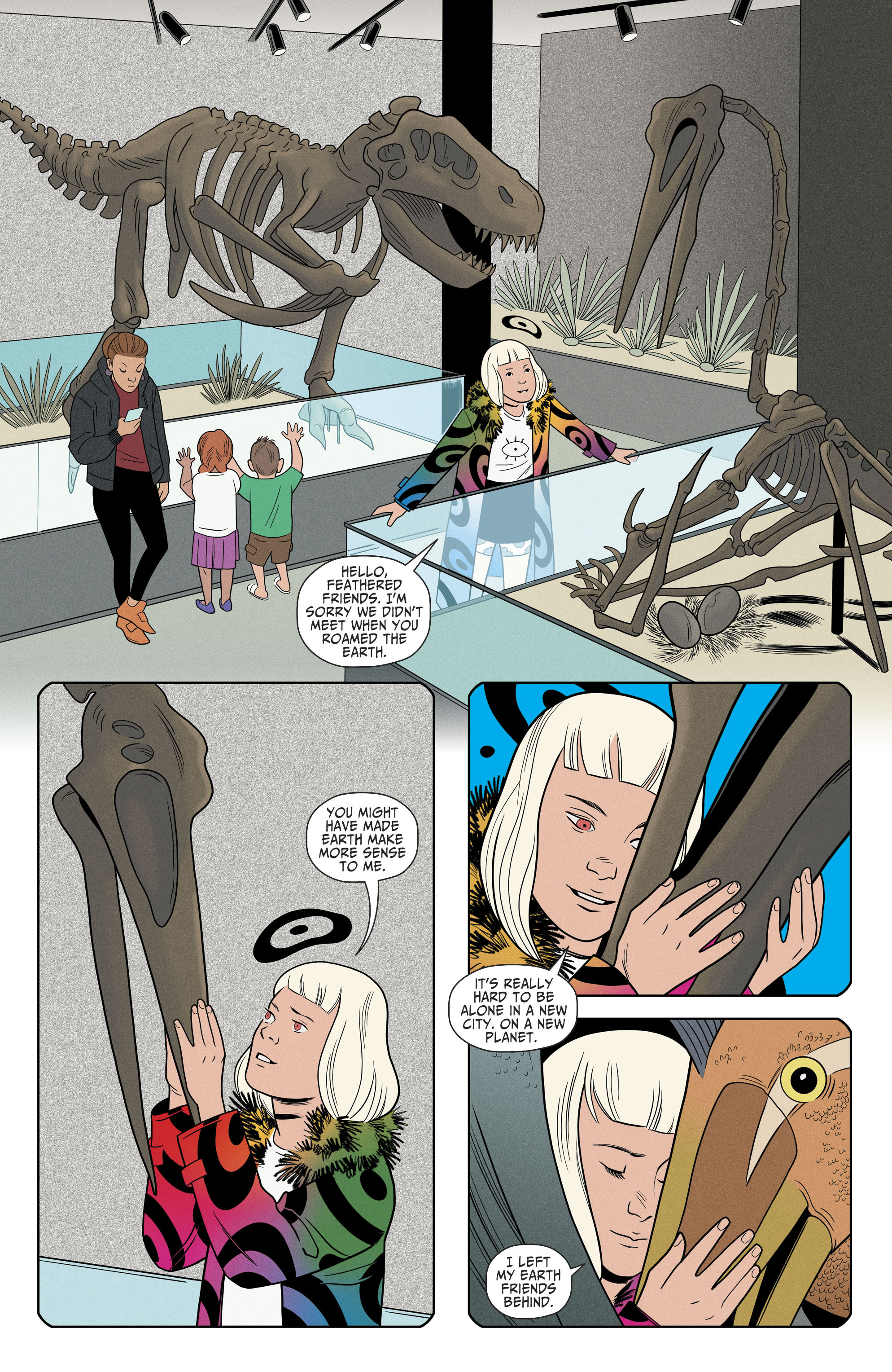 Read online Shade, the Changing Girl comic -  Issue #8 - 19