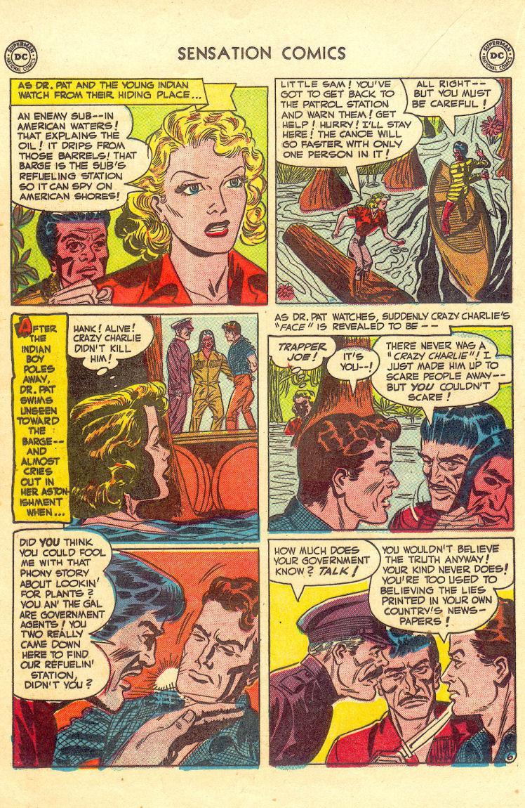 Read online Sensation (Mystery) Comics comic -  Issue #105 - 22