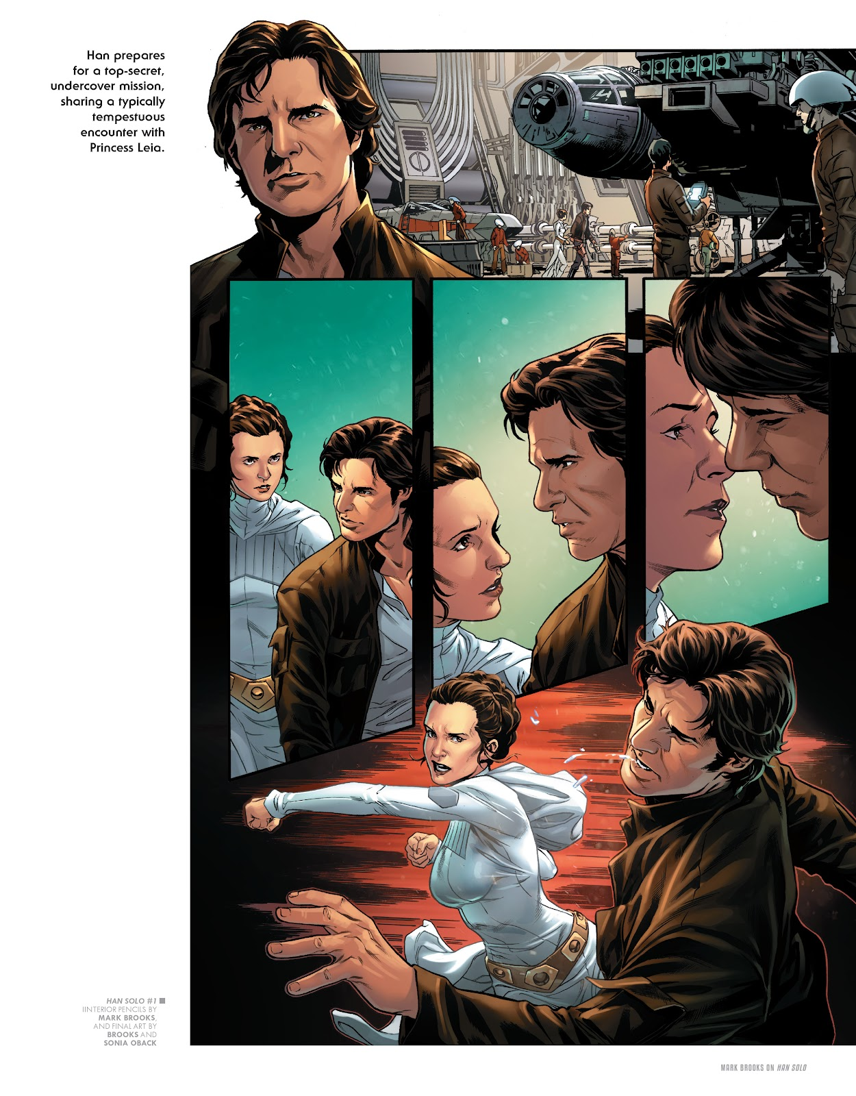 Read online The Marvel Art of Star Wars comic -  Issue # TPB (Part 2) - 38