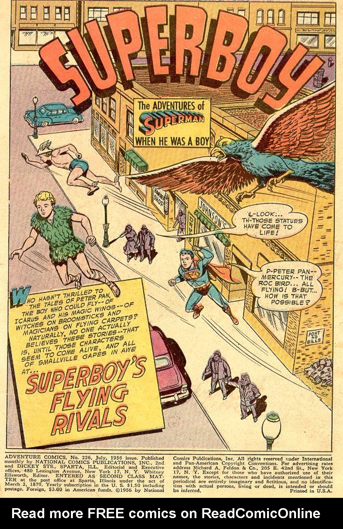 Read online Adventure Comics (1938) comic -  Issue #226 - 3