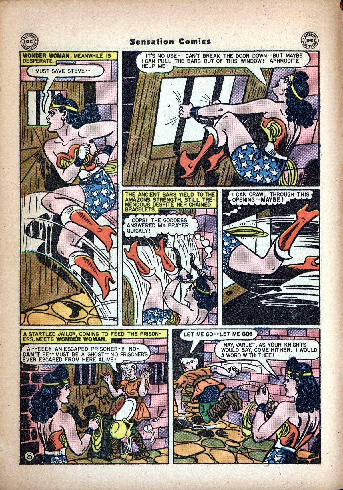 Read online Sensation (Mystery) Comics comic -  Issue #62 - 10