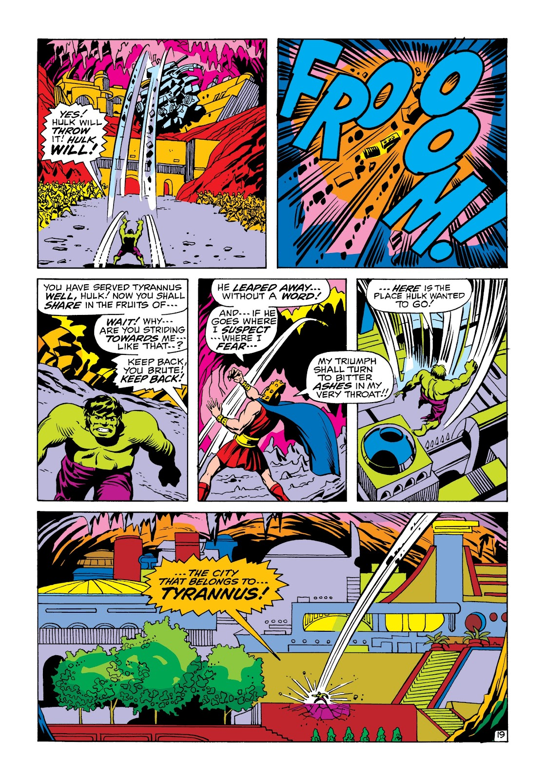 Read online Marvel Masterworks: The Incredible Hulk comic -  Issue # TPB 6 (Part 2) - 32