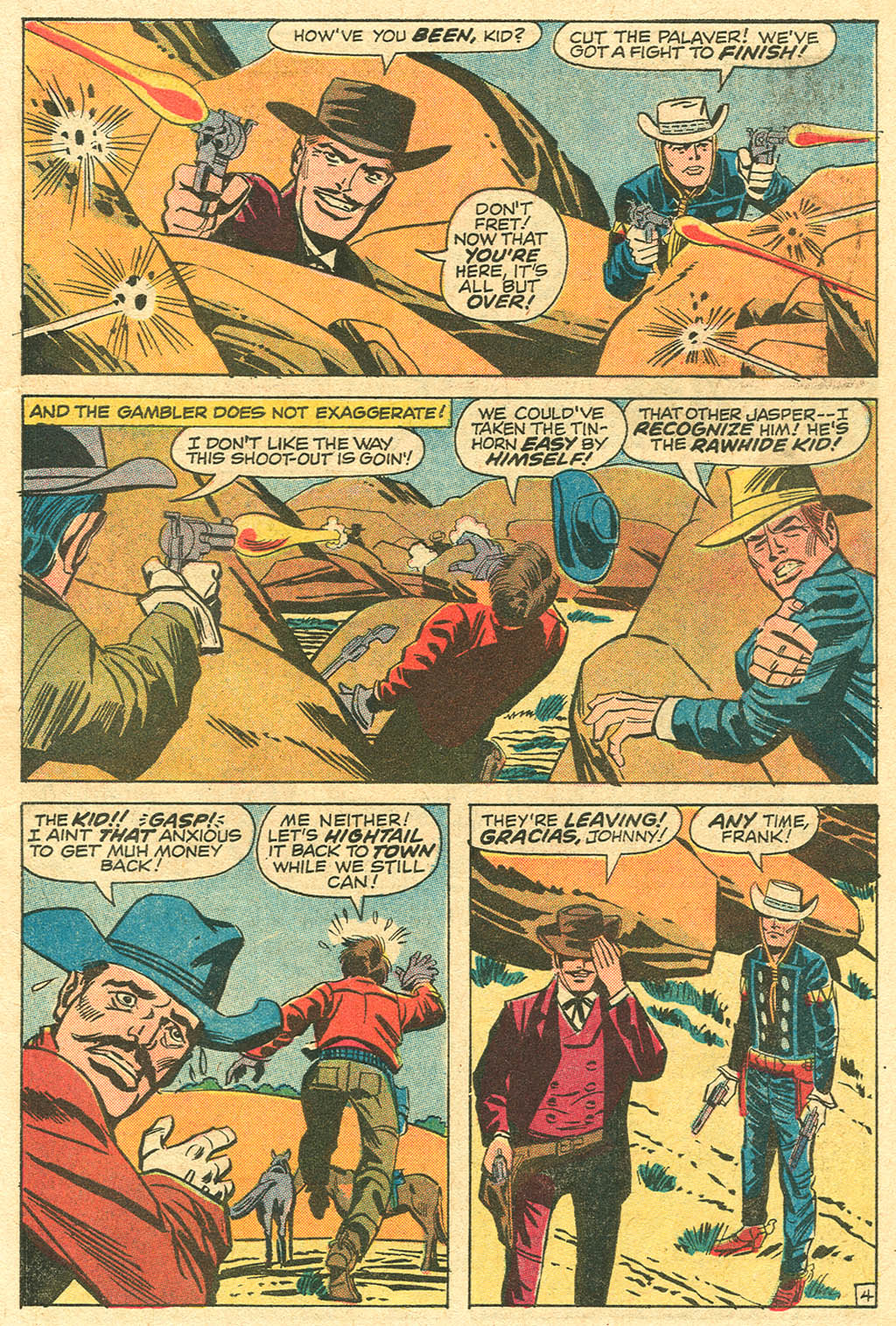 The Rawhide Kid (1955) issue 100 - Page 7