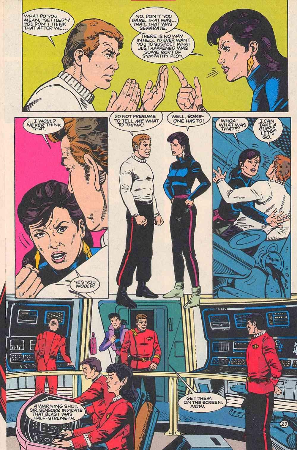Read online Star Trek (1989) comic -  Issue # _Special 1 - 32