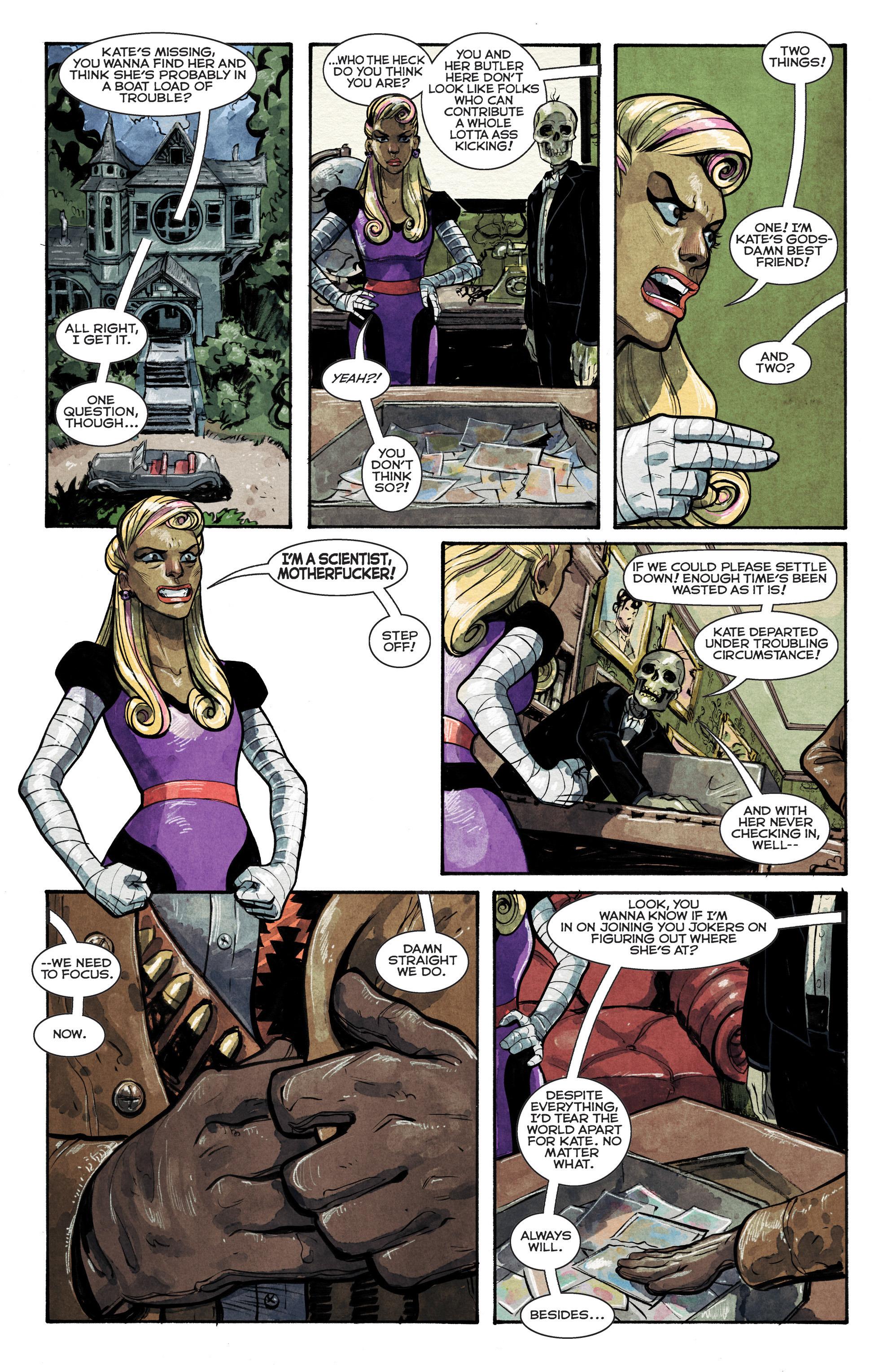 Read online Shutter comic -  Issue #13 - 14