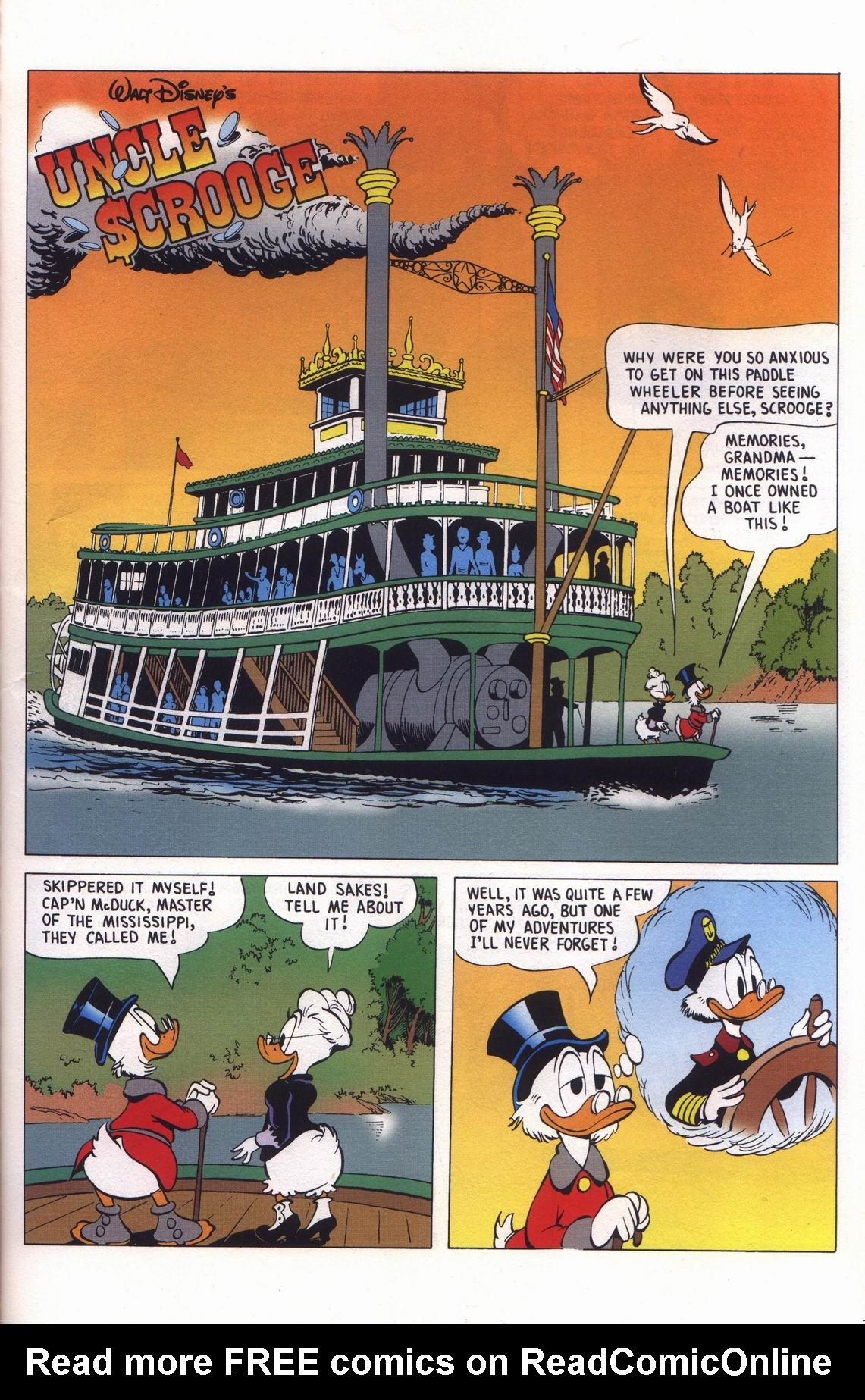 Read online Uncle Scrooge (1953) comic -  Issue #313 - 47