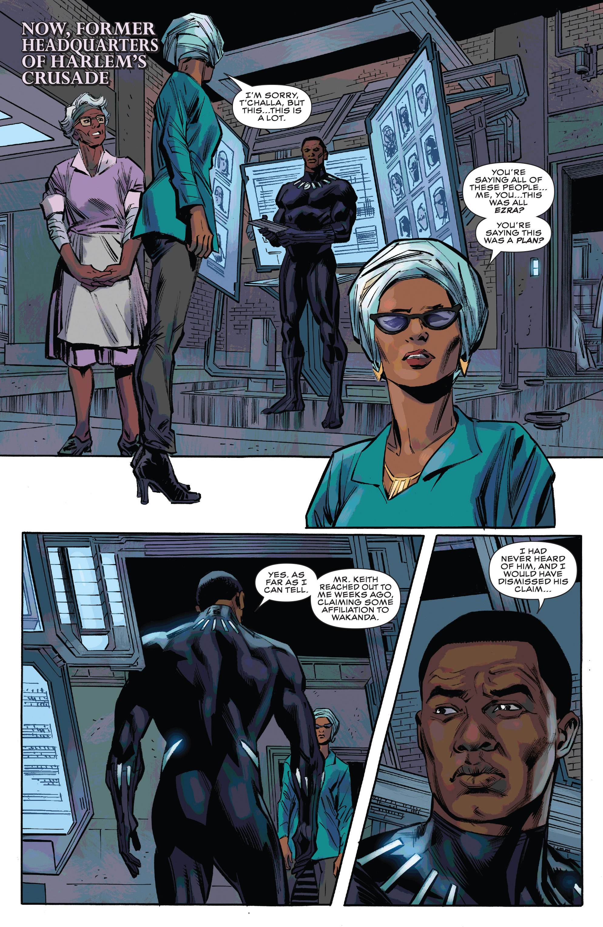 Read online Black Panther and the Crew comic -  Issue #3 - 7
