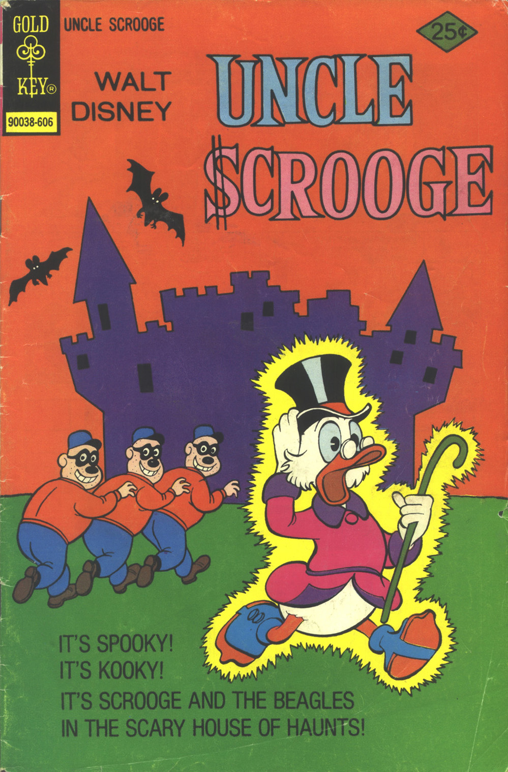 Read online Uncle Scrooge (1953) comic -  Issue #129 - 1