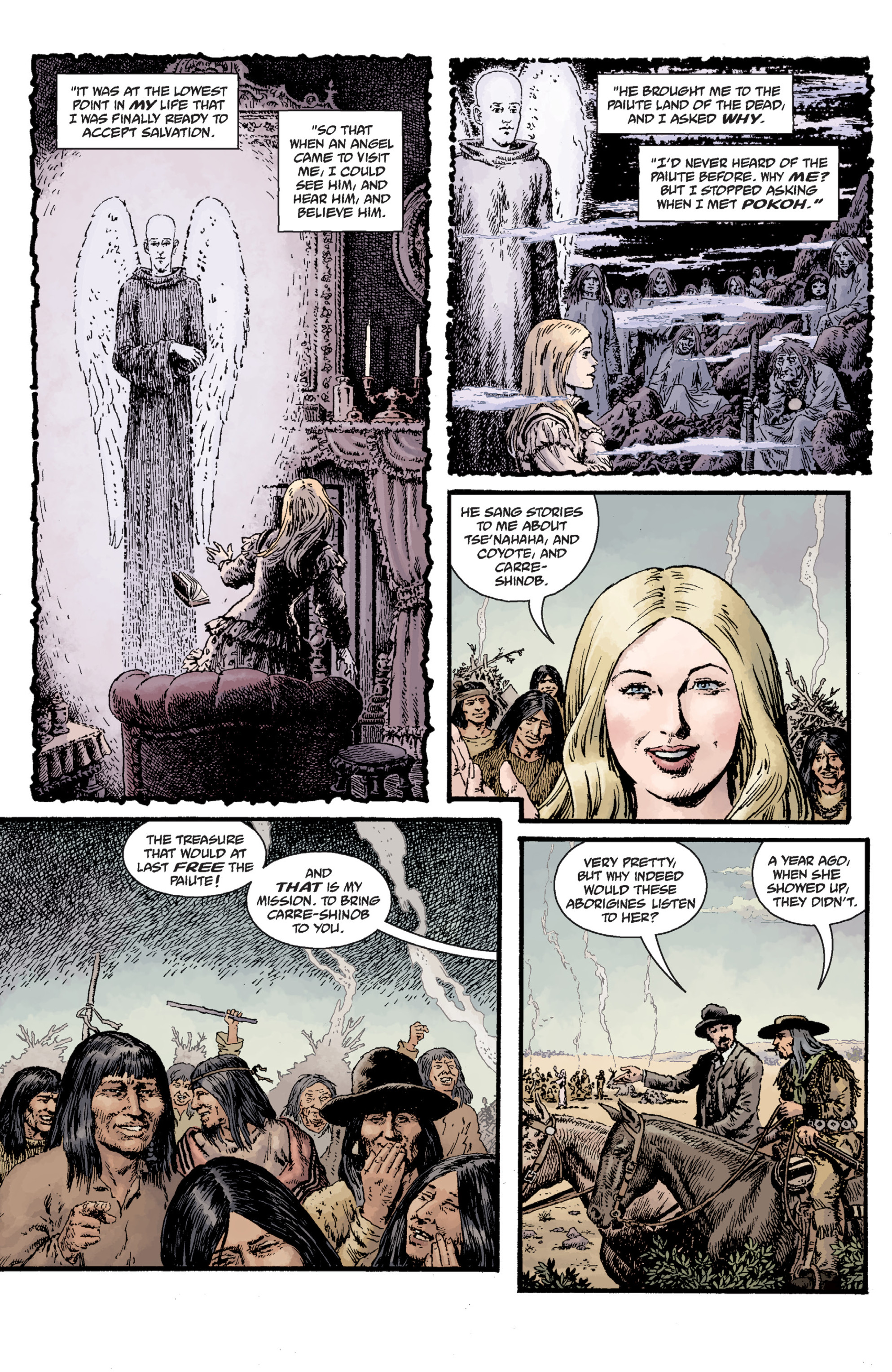 Read online Sir Edward Grey, Witchfinder: Lost and Gone Forever comic -  Issue # TPB - 37