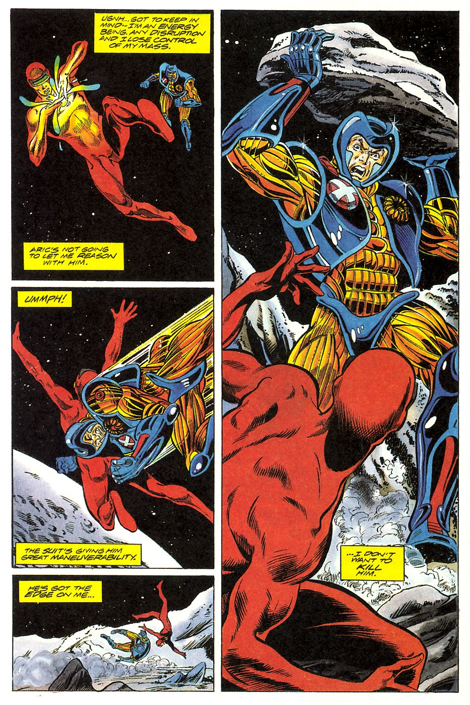 Read online Solar, Man of the Atom comic -  Issue #17 - 16
