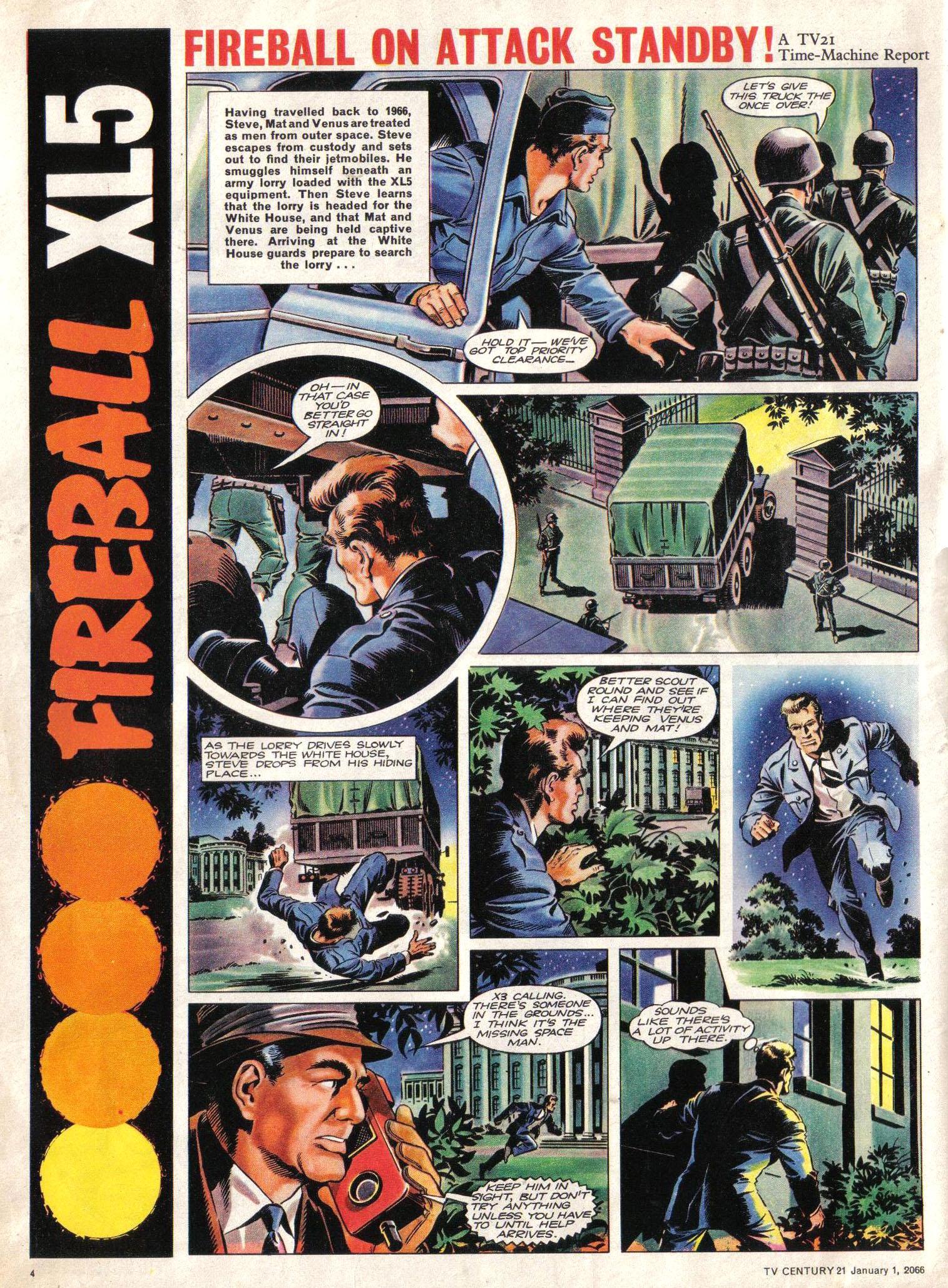 Read online TV Century 21 (TV 21) comic -  Issue #50 - 4