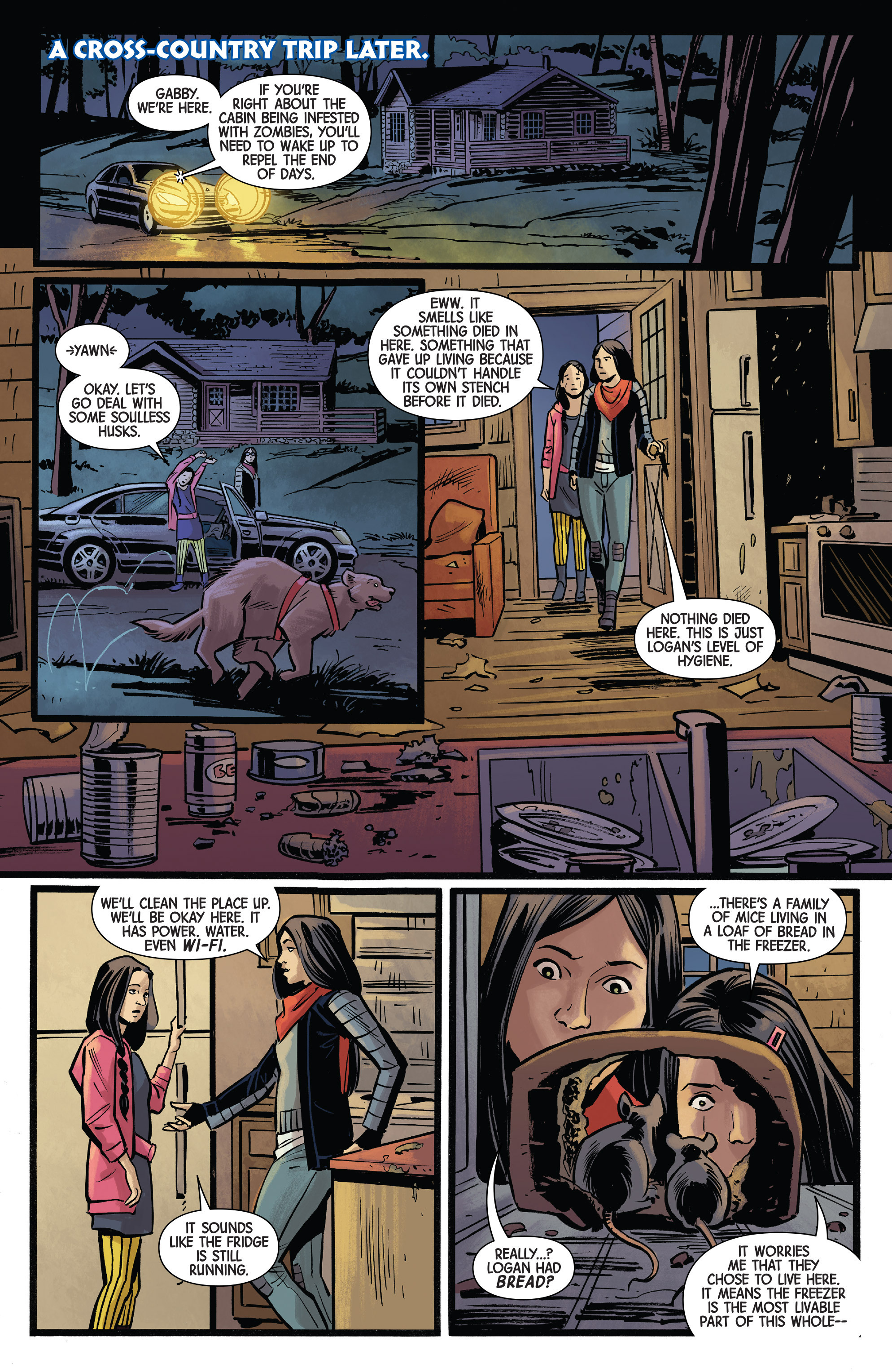 Read online All-New Wolverine (2016) comic -  Issue #13 - 15