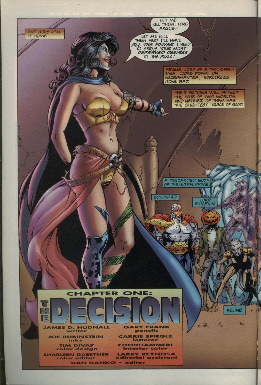Read online Godwheel comic -  Issue #1 - 5