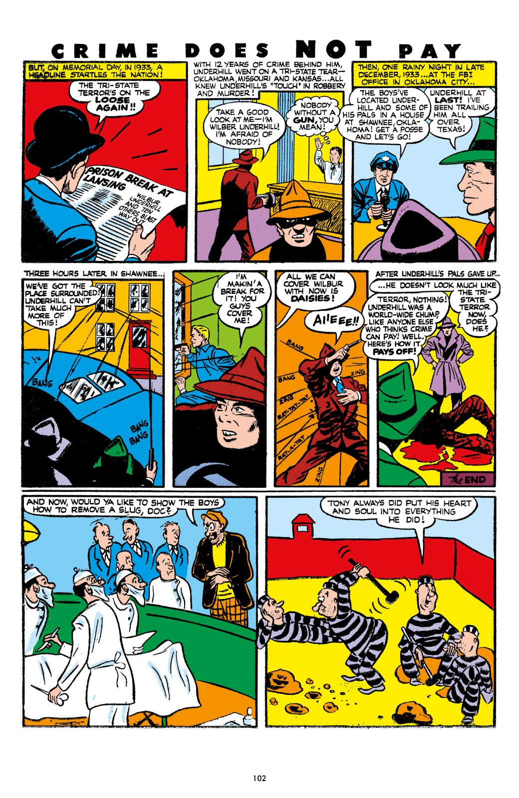 Read online Crime Does Not Pay Archives comic -  Issue # TPB 7 (Part 2) - 4