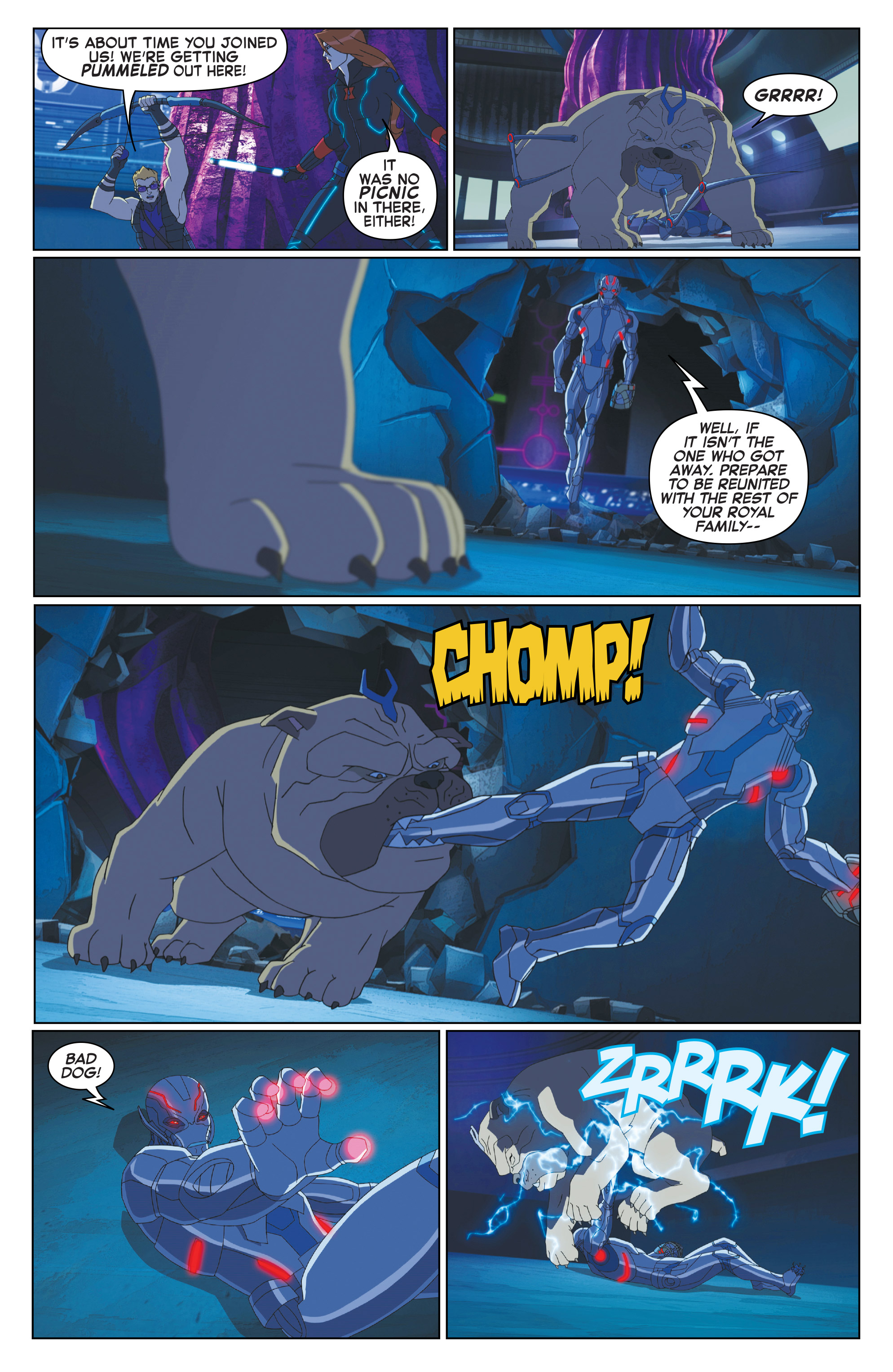 Read online Marvel Universe Avengers: Ultron Revolution comic -  Issue #10 - 10