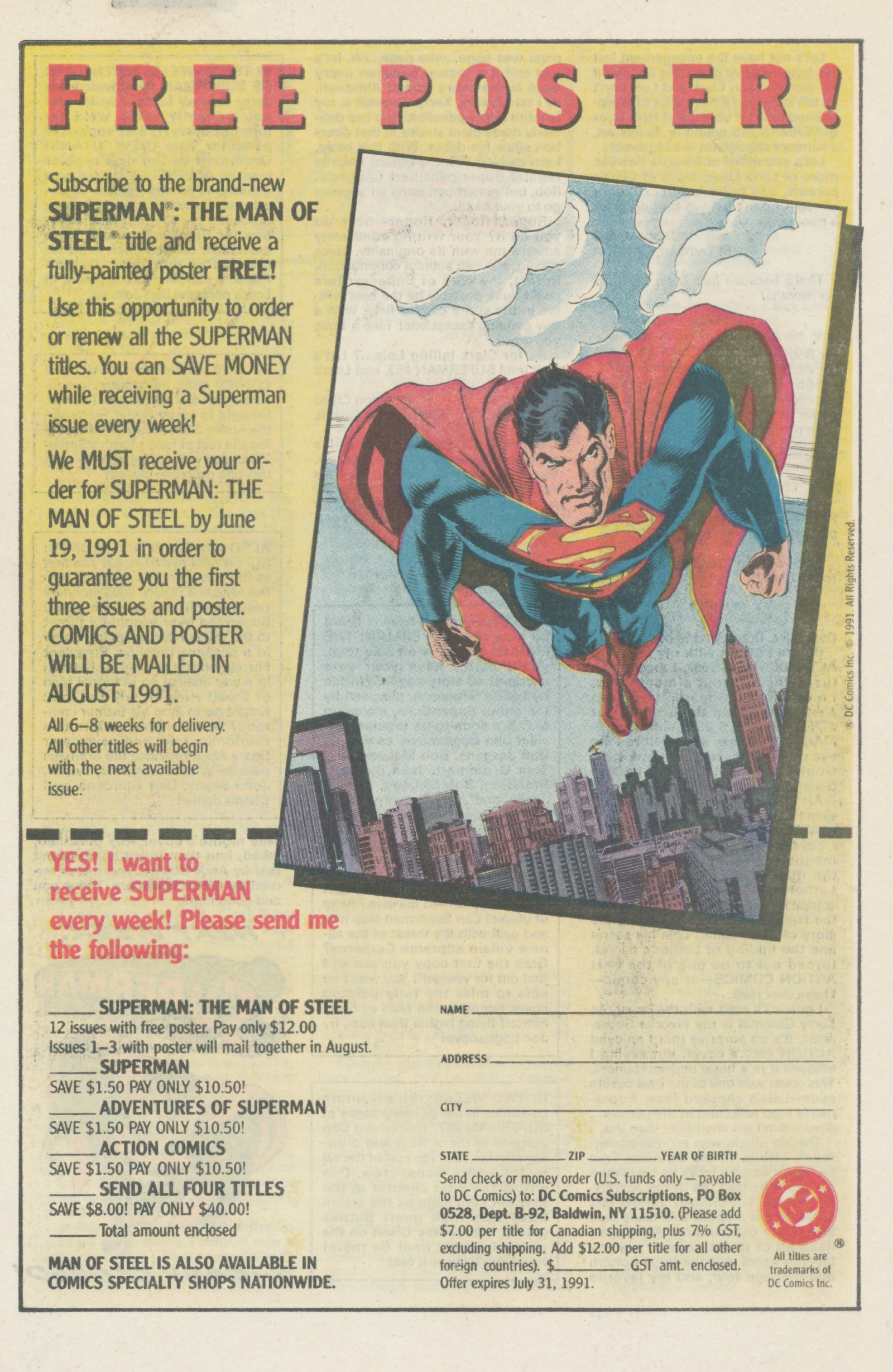 Read online Action Comics (1938) comic -  Issue #666 - 33