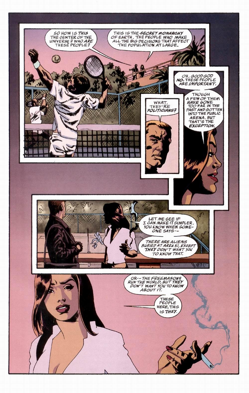 Read online Sleeper comic -  Issue #3 - 20