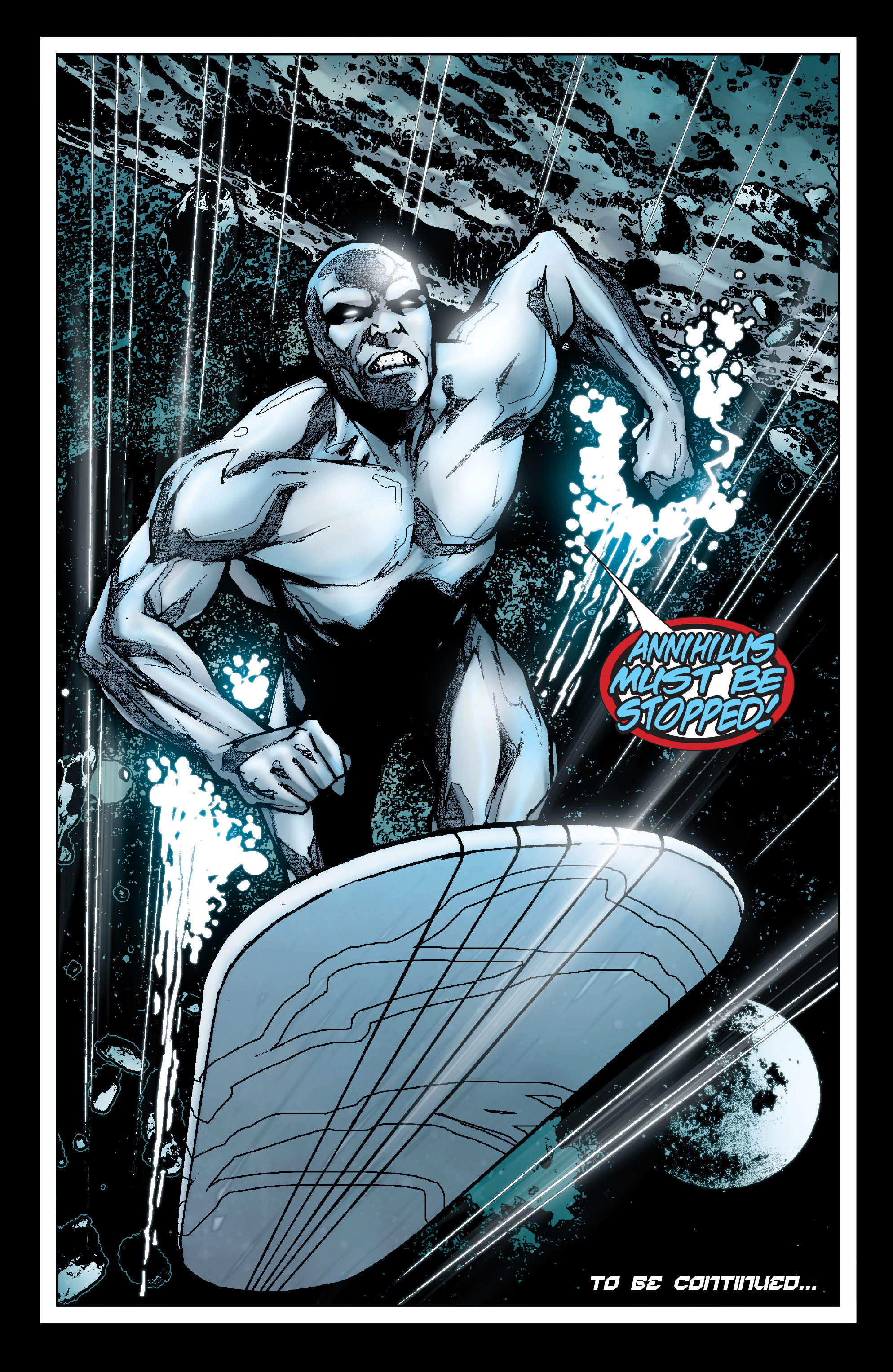 Read online Annihilation: Silver Surfer comic -  Issue #1 - 23