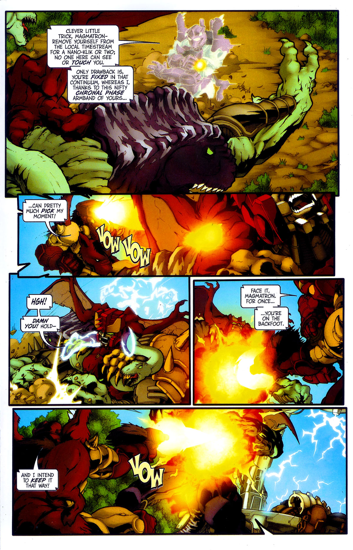 Read online Transformers, Beast Wars: The Gathering comic -  Issue #4 - 18