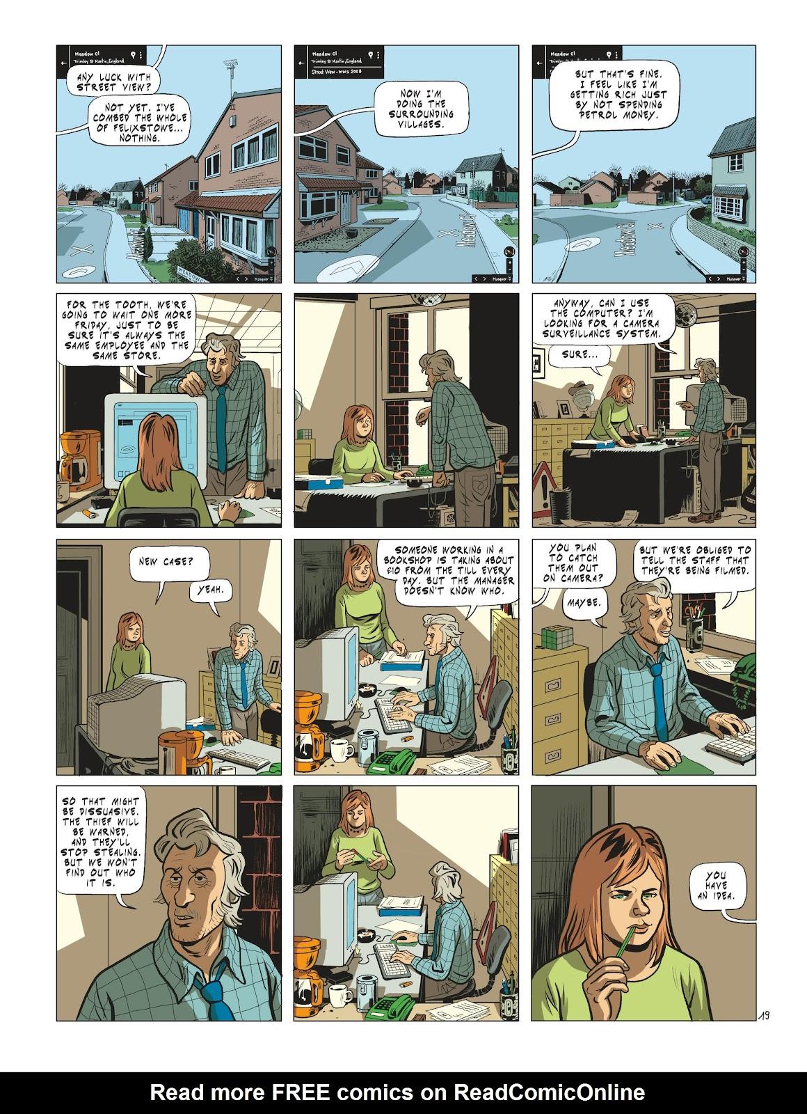 Read online Maggy Garrisson comic -  Issue #3 - 21