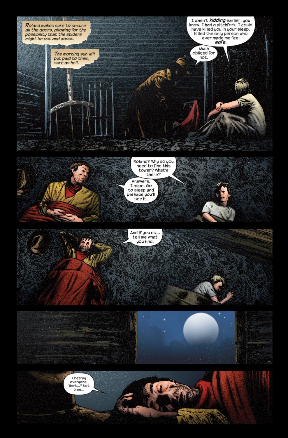 Read online Dark Tower: The Gunslinger - The Way Station comic -  Issue #3 - 21