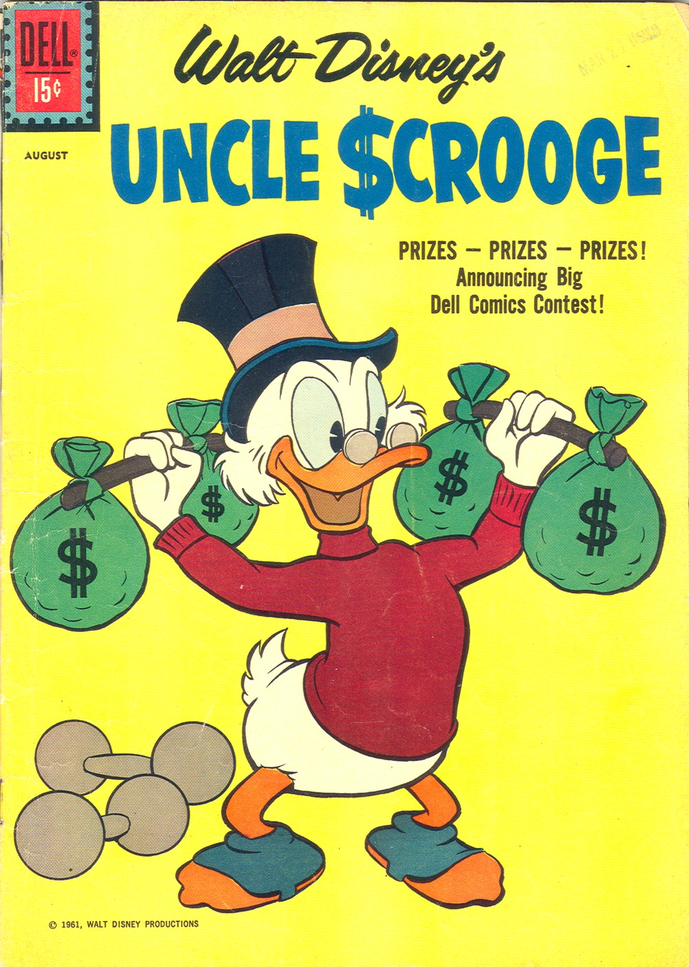 Read online Uncle Scrooge (1953) comic -  Issue #34 - 1