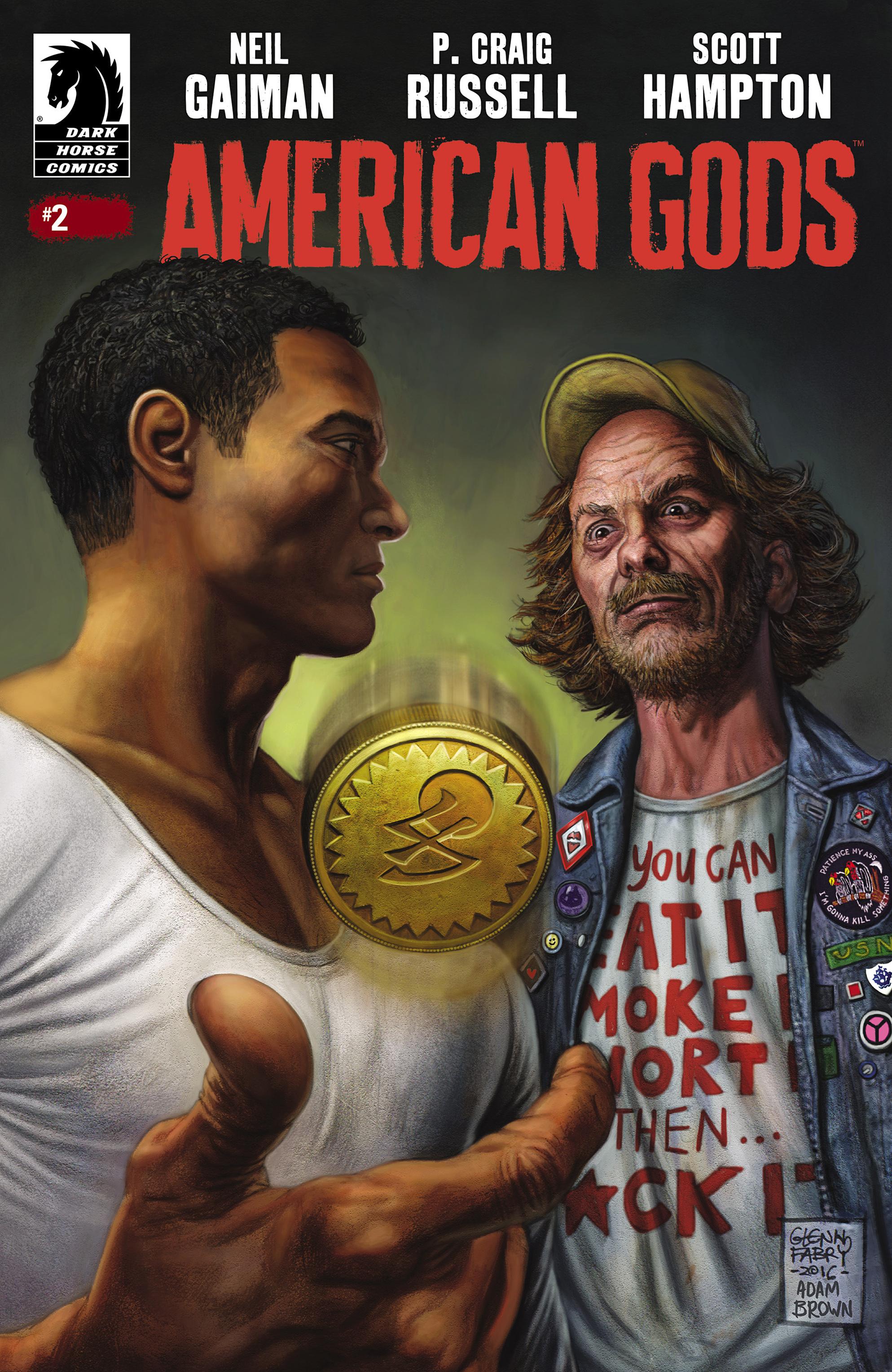 American Gods: Shadows 2 Page 1